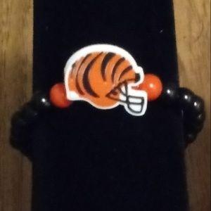 Cincinnati Bengals Charm Bracelet